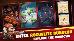 Brave Dungeon Roguelite IDLE For PC